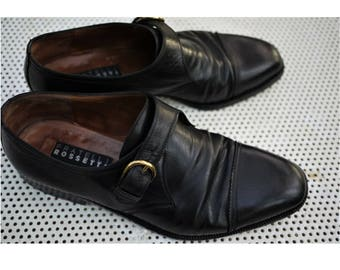 Fratelli Rossetti shoes Made in Italy/vintage shoes black color