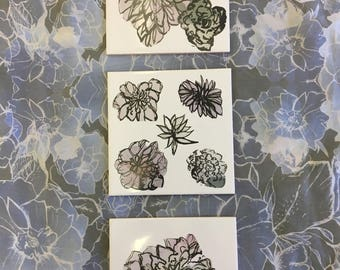 Floral Ceramic Tiles