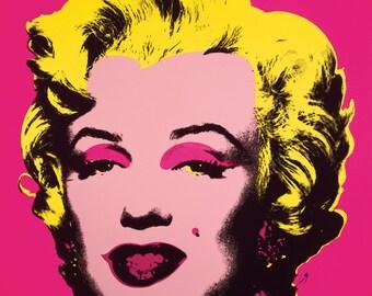 Andy Warhol Marilyn Monroe (Marilyn), 1967 (hot pink)