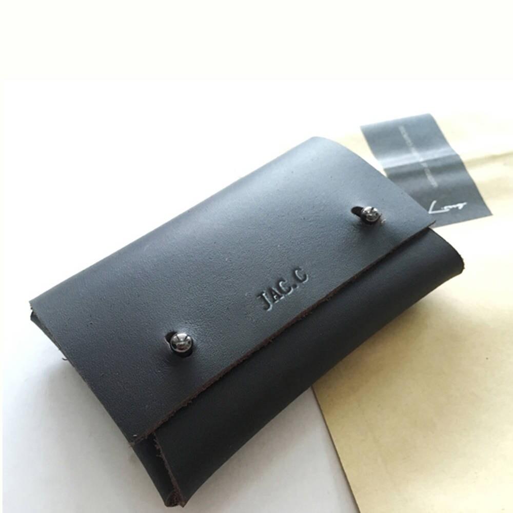 Stylish Leather Businesscard Holder Leathercraft Card Holder