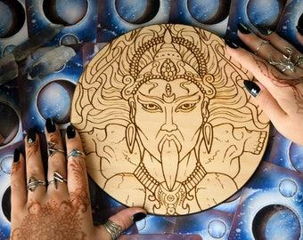 Altar pentacle - Kali