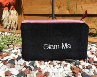 Embroidered Purse Glam-Ma