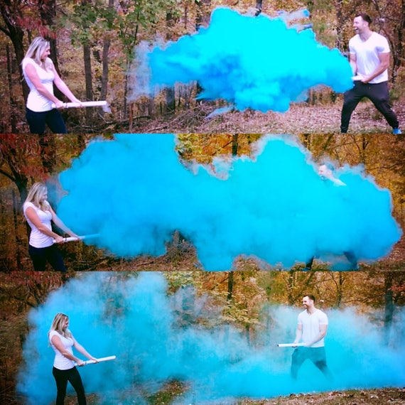 "24"" SMOKE POWDER CANNON ™ Gender Reveal Smoke Powder Cannons! New Gender Reveal Idea! Ships Same Day!"
