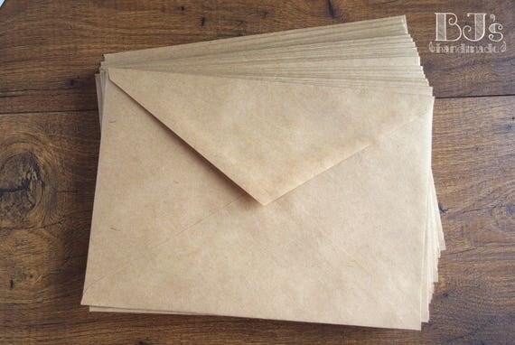 Kraft paper envelopes brown 5x7 and 9x7 envelopes wedding kraft paper envelopes brown 5x7 and 9x7 envelopes wedding invitation stationery rustic envelope c6 c5 sizes wedding invitation mailing from stopboris Images