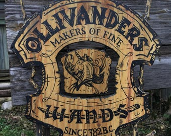 Harry Potter Sign Olivanders makers of fine Wands