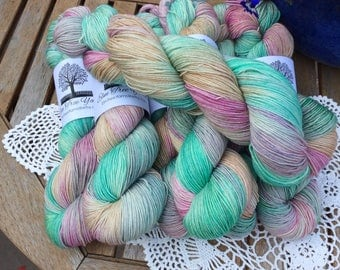 4ply SWM/BFL with Nylon old Women who lived in a shoe