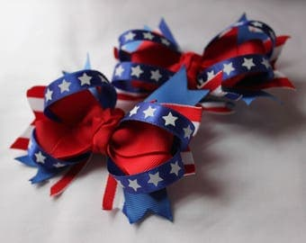 4th Of July Hair Clip Accessory