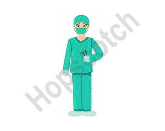 Surgeon - Machine Embroidery Design