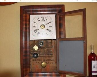 Vintage Wall Clock Etsy