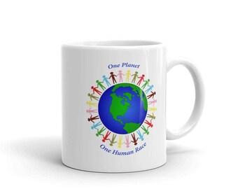 Unity Mug - One Planet One Human Race
