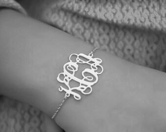 special order 10 monogram bracelets