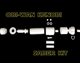 Obi Wan Kenobi Lightsaber Kit - Star Wars Inspired: Revenge Of The Sith