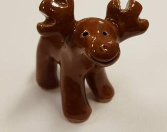 Little Guys Ceramic Moose