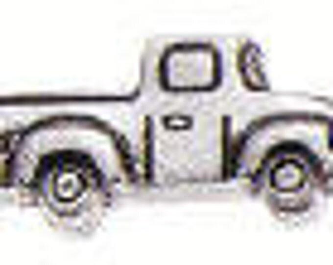 Pick Up Truck Danforth pewter shank button