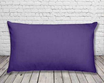 Ultra Violet Purple Cushion | Pantone Colour of the year 2018 | Rectangular Pillow