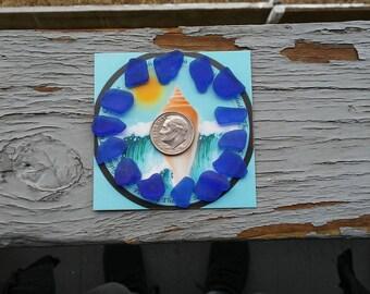 14 Blue Cobalt - Sea Glass