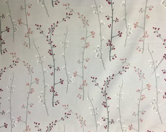 """New Floral Fabric:  Dear Stella Love Letter Spring Branches 100% cotton Fabric by the yard 36""""x43"""" (K197)"""