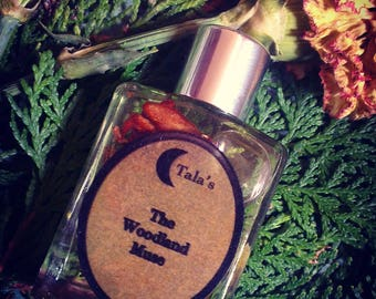 The Woodland Muse, Ritual Anointing Spell oil, Perfume oil, Spell oil, Earth Magick, Grounding, Fae energy, Witchcraft, Wicca