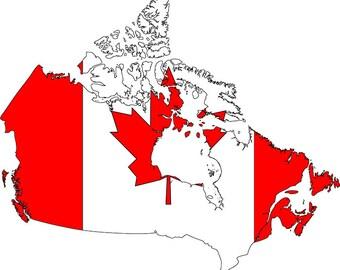 Canadian svg Etsy