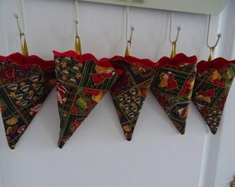 Cone hanging Christmas