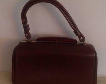 On Sale Gorgous Vintage Ladies Brown Purse