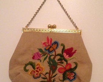 Anniversary Sale Gorgeous Large Embroidered Purse