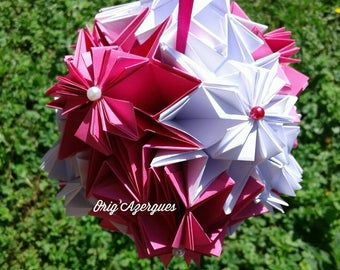 Bouquet of origami flowers for all occasions