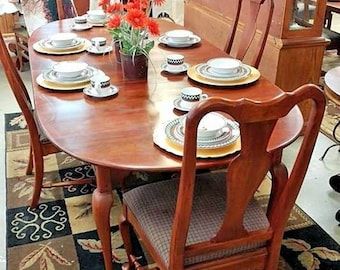 Bob Timberlake Lexington Furniture Oval Dining table Only  w 2 Leaf's