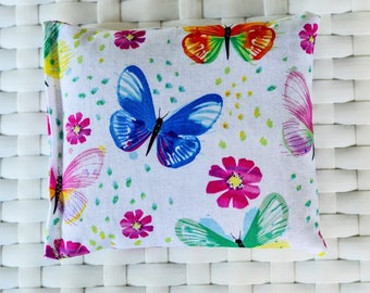Lavender Pillow- Butterfly Print