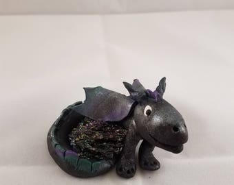 Dragon with stone