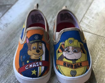 Chase And Rubble Paw Patrol Shoes