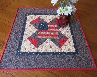 Quilted Table Topper - Americana