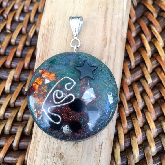 Psychic Energy Building Orgone Energy Pendant- Empath Protection Positive Energy Generator