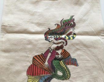 Tote bag Mermaid tote bag
