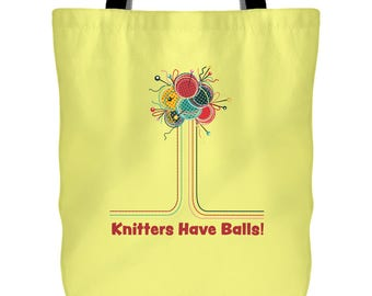 Knitting Project Bag Project Bag for Knitting Funny Knitting Project Bag