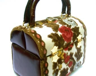 Posh Brocade Box Purse by Tano of Spain