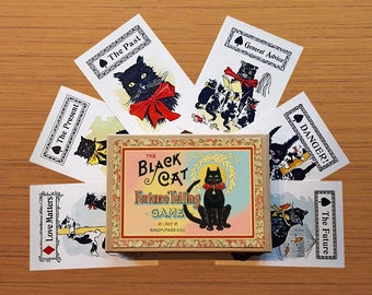 Black Cat Fortune Telling Game by Bristol & London