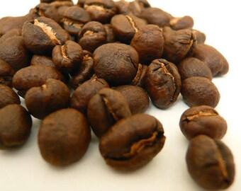 1lb Ethiopian Natural Sidamo Guji 4 Whole Coffee Beans Dark Roast One Pound