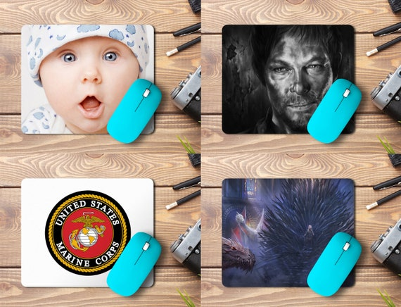 "Custom Photo Mousepad , Print Logo or Any Design 9.25""X7.75""x1/4"" Customized mouse pad Personalized mouse pad"