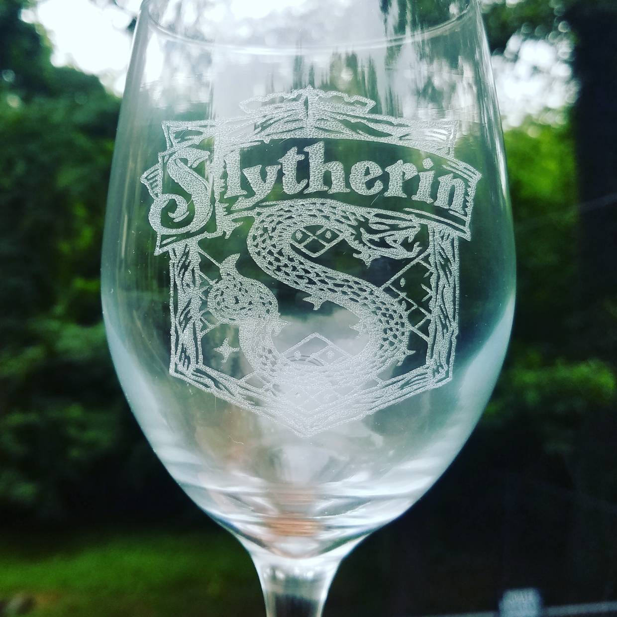 harry potter gin glass