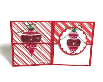 Christmas Gift Card Holder Set, Christmas Gift Card Holder, Holiday Gift Card Holder Set, Holiday Gift Card Holder, Gift Card Holder Set