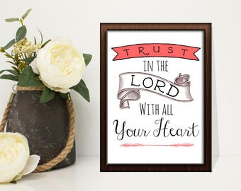 Christian Wall Sign **PRINTABLE**