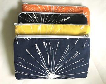 Pencil POUCH Pencil CASE Zipper Pouch School Supplies Purse organizer Travel Pouch Pencil bag Makeup bag Cosmetic bag Art supplies Pouch