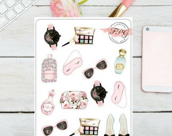 Beauty Time  Decorative Sticker for your  planner