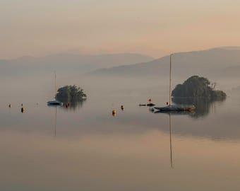 Lakeside Morning Mist *digital download*