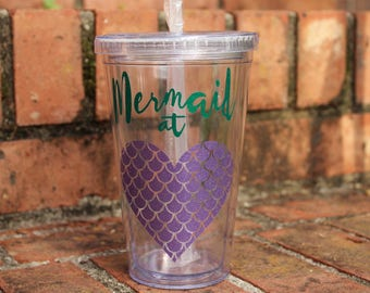 Mermaid at Heart Tumbler