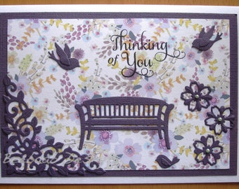 "Handmade card ""Thinking of You"""