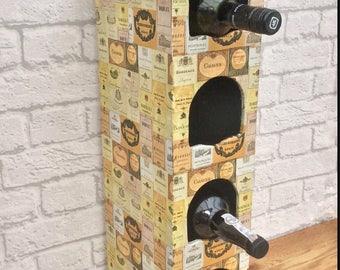 Wine Rack, Wine Gift, Wine Bottles, Kitchen Storage, Prossecco Drinker, White Wine Drinker, Red Wine Lover, Wine Drinker Gift, Wine Lover