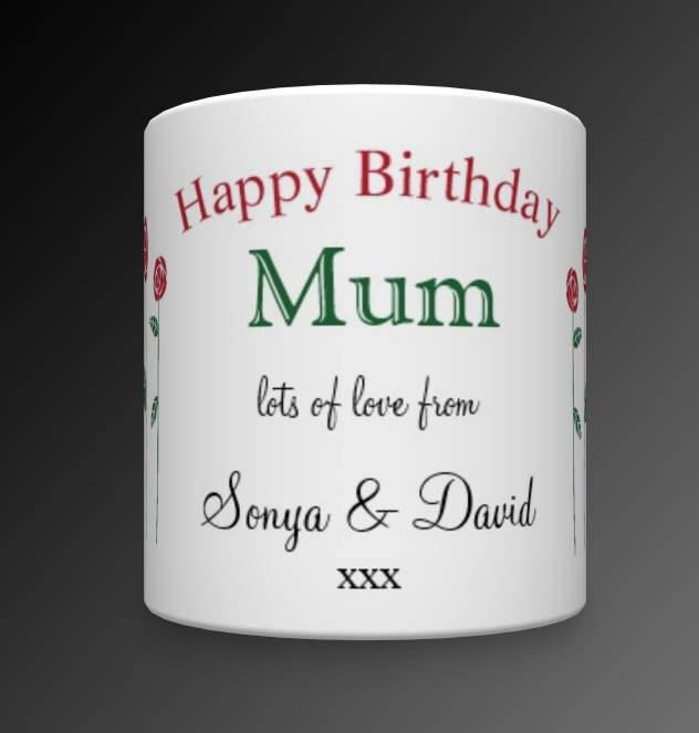 Personalised Mum Birthday Mug Gift For Mom
