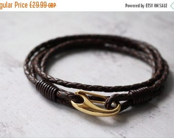 Summer Sale Leather Wrap Bracelet - Men's Bracelet
